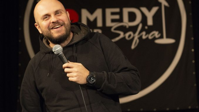 Ivan Kirkov stand-up comedy picture