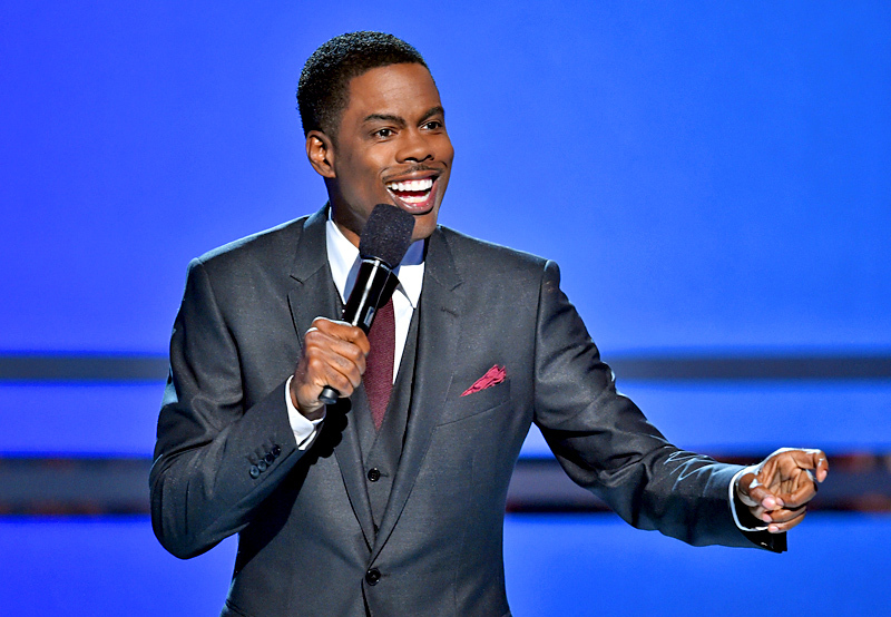 Chris Rock - stand-up comedy.