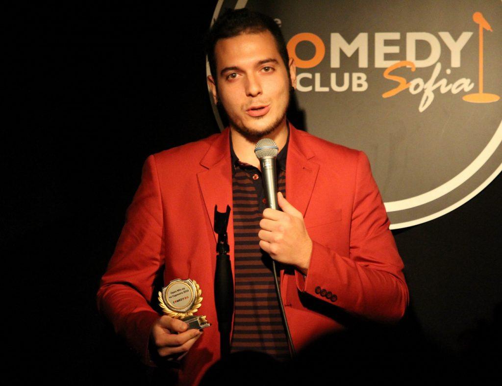 stand-up comedy Nikolaos български комедиант